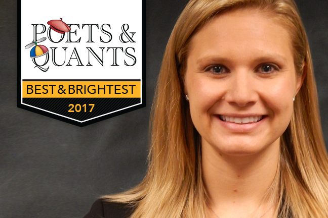 Poets & Quants Best & Brightest MBAs 2017, Katie Philippi